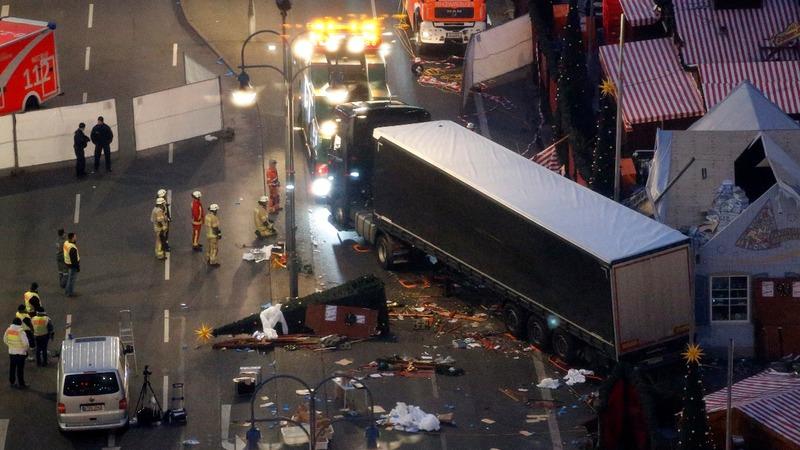 12 dead in 'deliberate' Berlin market attack