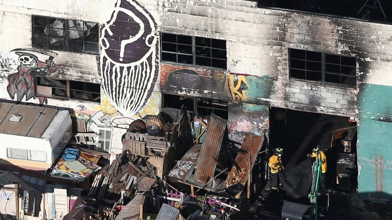 PERSPECTIVES: Oakland Fire at the 'Ghost Ship'