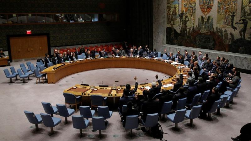 Palestinians hail Security Council vote