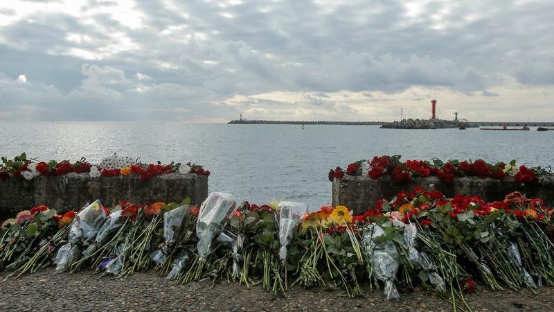 Flight recorder found from Black Sea crash