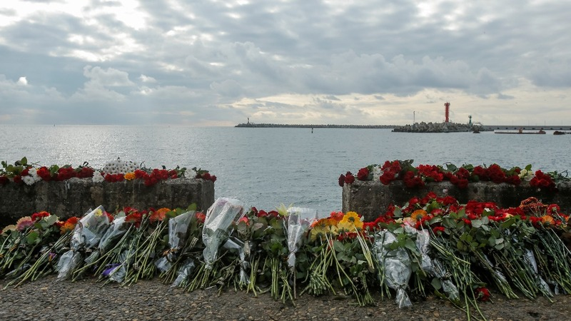Flight recorder found from Black Sea crash