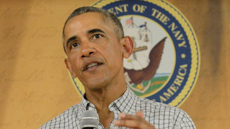 Obama says he could've won a third term