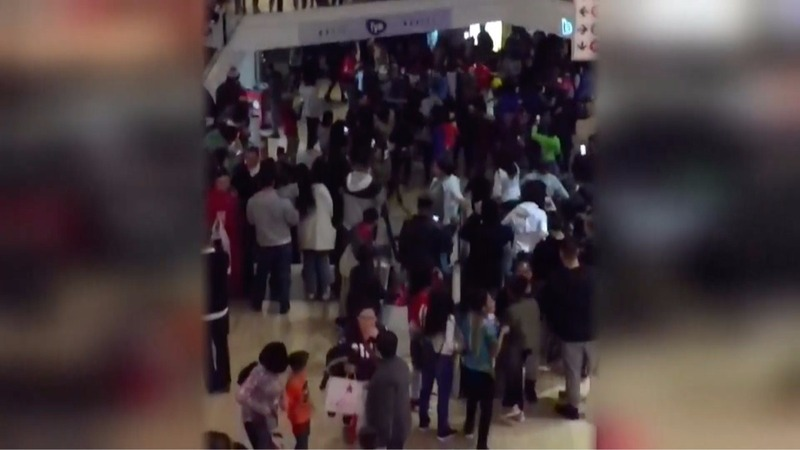 Post-Christmas shopping marred by mall violence