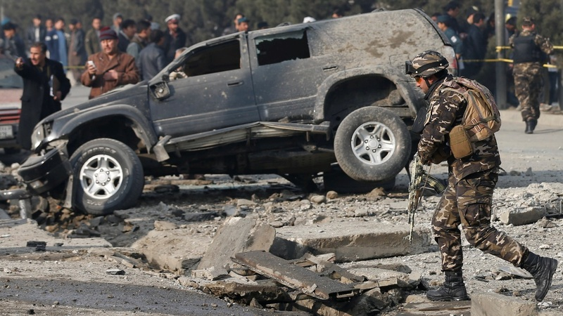 Kabul blast wounds member of parliament