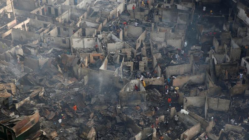 Manila fire leaves thousands homeless