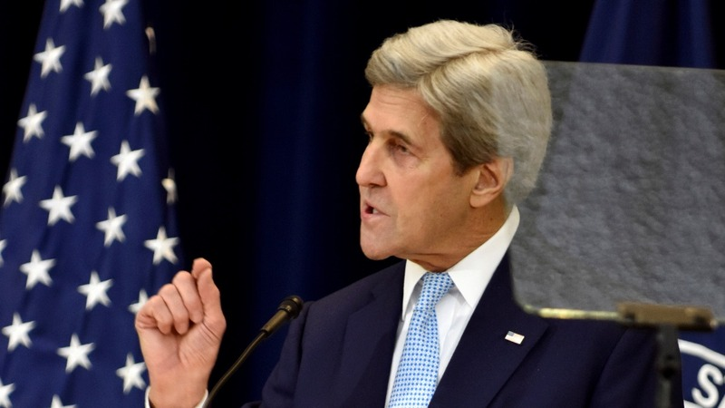 Kerry makes dramatic plea for 2-state solution