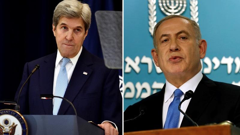 VERBATIM: Kerry, Netanyahu tussle over settlements