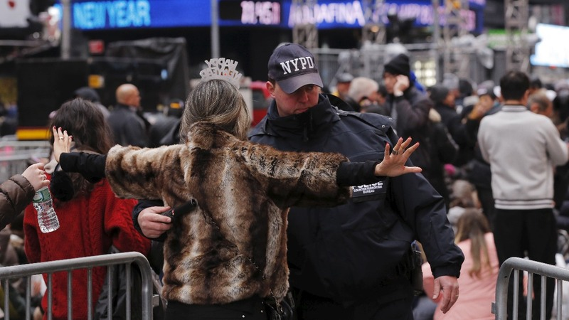 Anxiety over security ahead of New Year's Eve