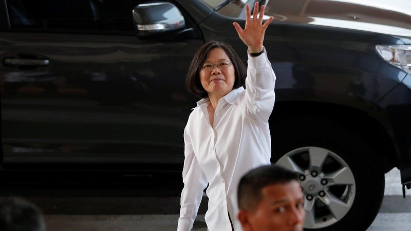 Over China's objections, Taiwan president to visit U.S.