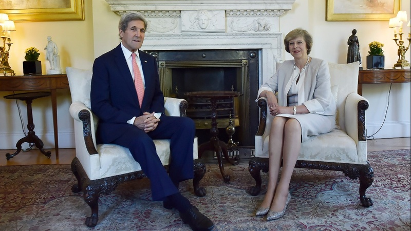 Britain scolds U.S. over Israel comments