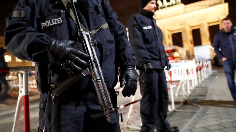 Europe ramps up security for New Year