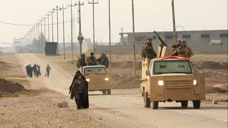 Iraqi Army advances on Mosul