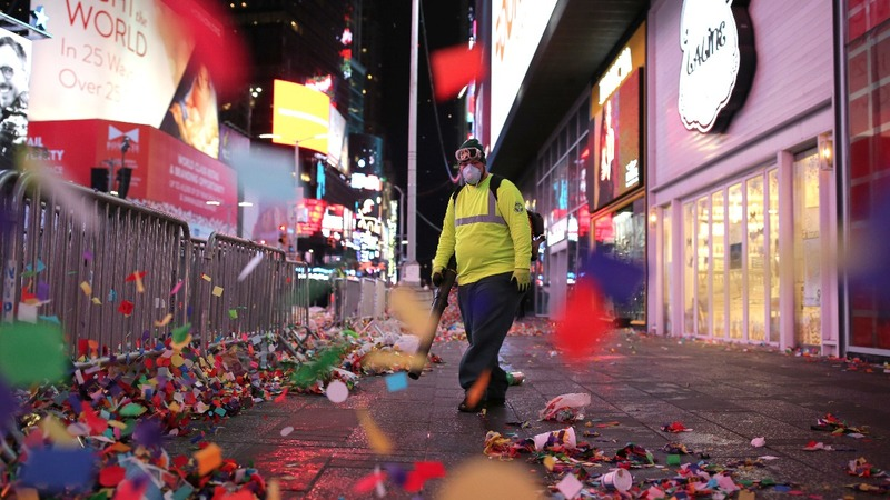 INSIGHT: Cleaning up 2016 in Times Square