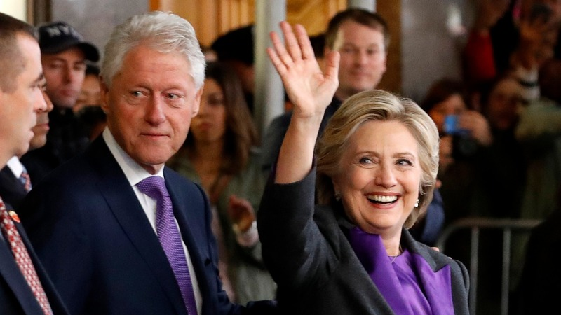 Clintons to attend Trump's inauguration