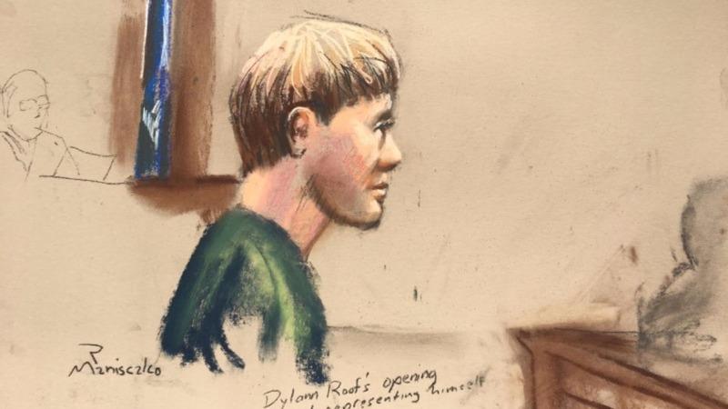South Carolina church gunman shows no remorse at trial