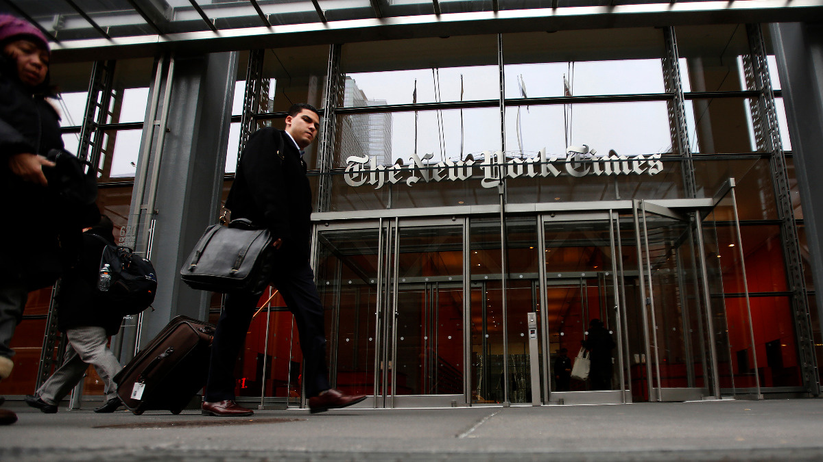 New York Times wiped from Apple's China app store