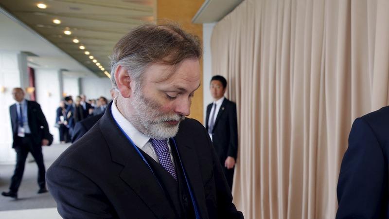 Career diplomat to replace EU envoy