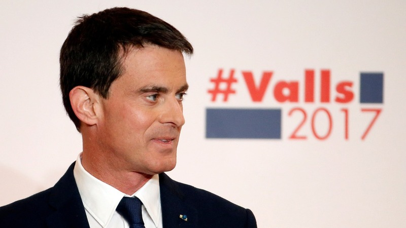 French ex-PM Valls set to win Socialist nomination