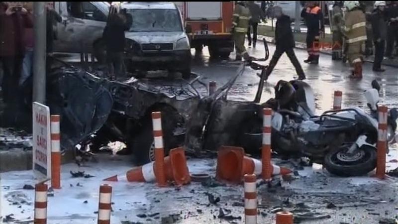 Explosion hits Turkish city amid manhunt