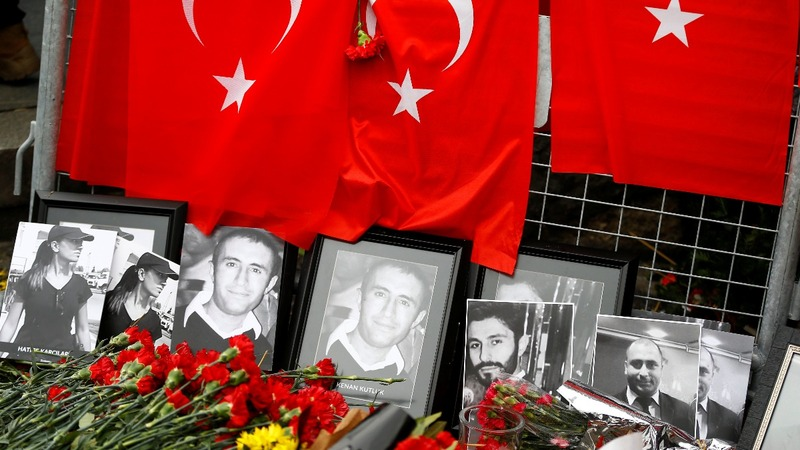 Istanbul districts link to nightclub shooter.