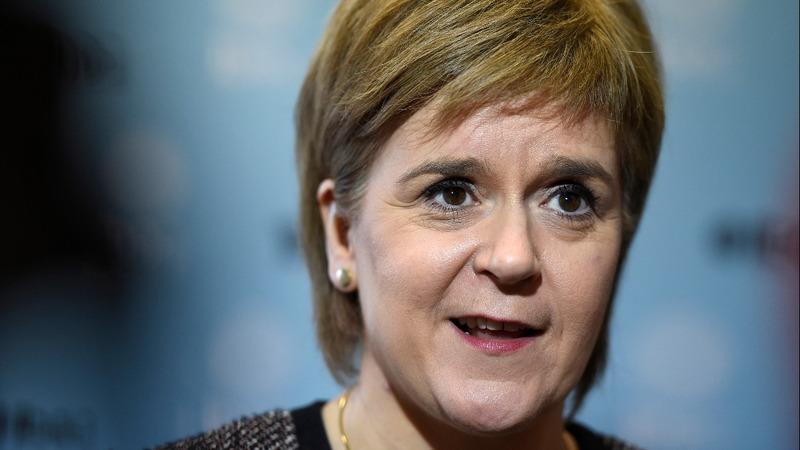 Scotland's Sturgeon talks tough on Brexit
