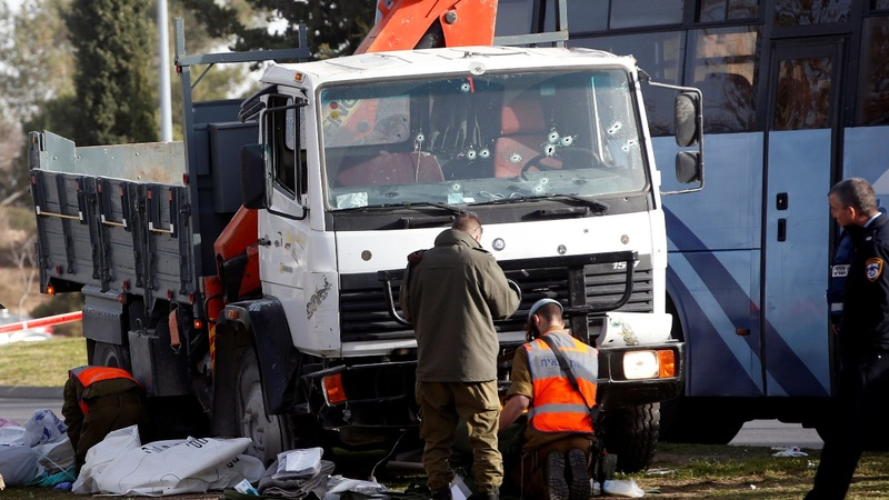 Jerusalem truck attack kills at least four