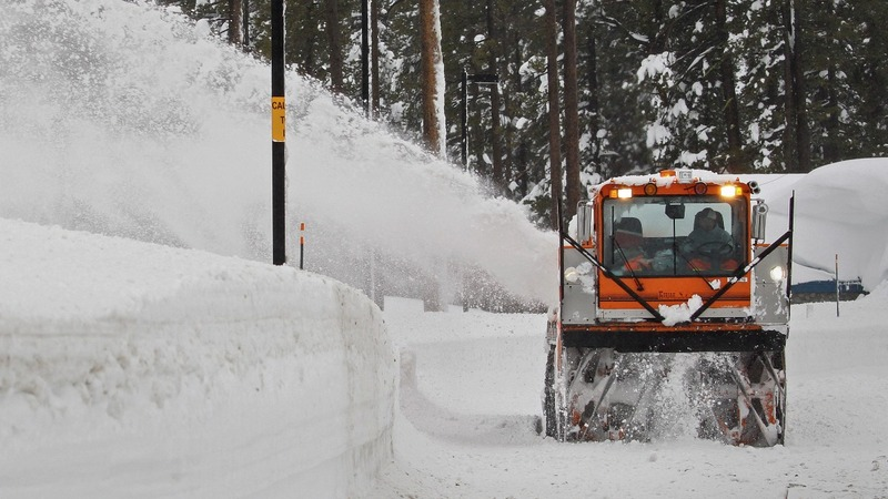 Winter weather wallops East and West coasts