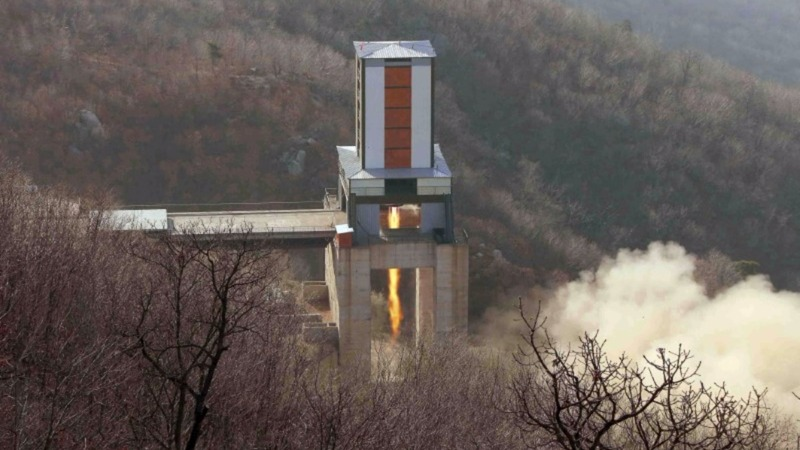 North Korea threatens missile launch 'anytime'