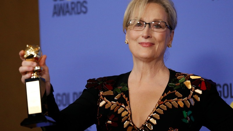 Streep's scathing speech steals show at Golden Globes
