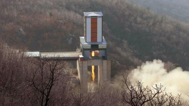 North Korea threatens ICBM test 'at any time'