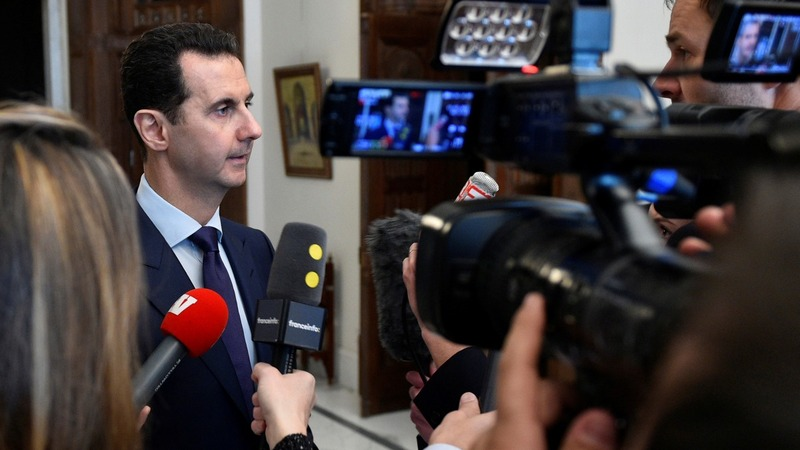 "Syria's Assad up for negotiating ""everything"""