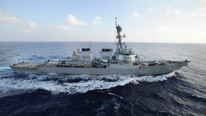 Tensions spike as US fires warning shots at Iranian boats