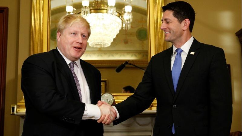 INSIGHT: Boris Johnson's trip to the U.S.