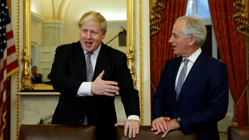 Britain in 'front seat' for U.S. trade deal