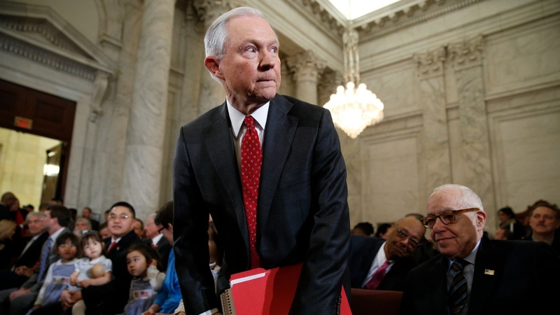 INSIGHT: Protesters disrupt Sessions confirmation