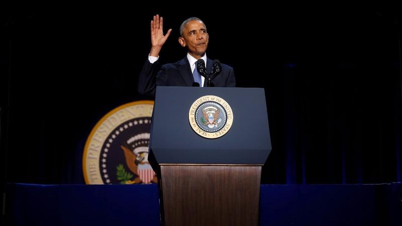 VERBATIM: Obama's farewell speech to America