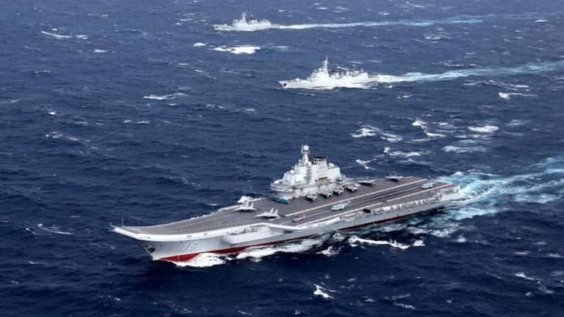 Taiwan scrambles jets as Chinese carrier passes