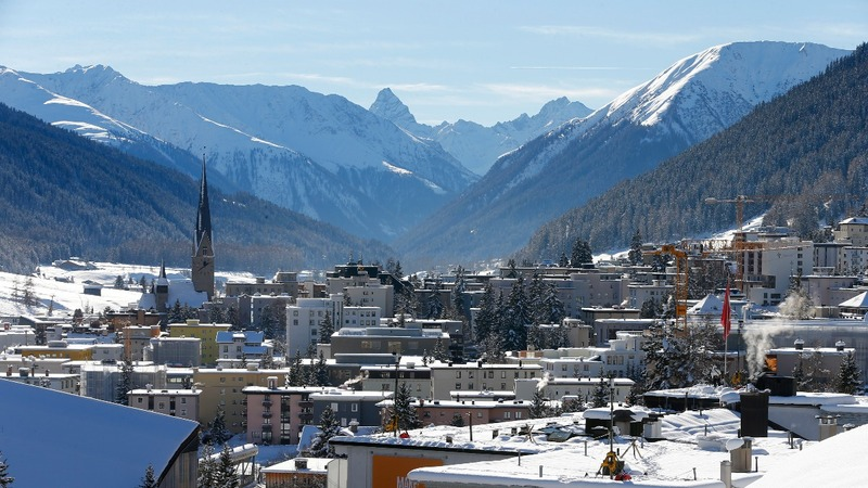 Rising populism, climate fuel risks at Davos