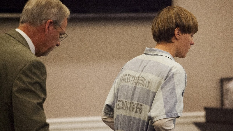Relatives of Charleston church victims confront Dylann Roof