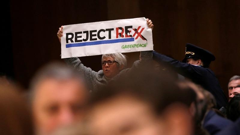 VERBATIM: Climate change no hoax, says Trump's State Sec. pick