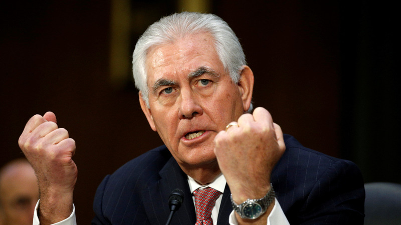 Rex Tillerson has a tough message for China