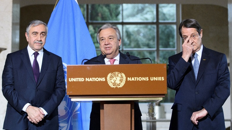 VERBATIM: UN 'Cyprus talks show progress'