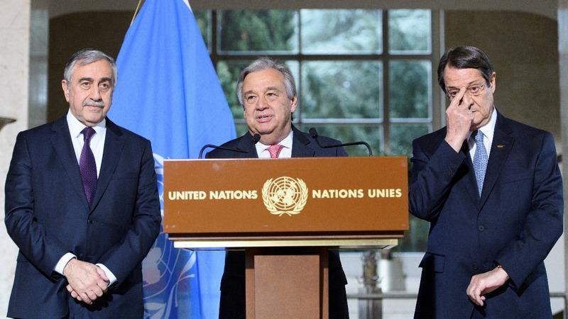 VERBATIM: UN 'Cyprus talks show progress'