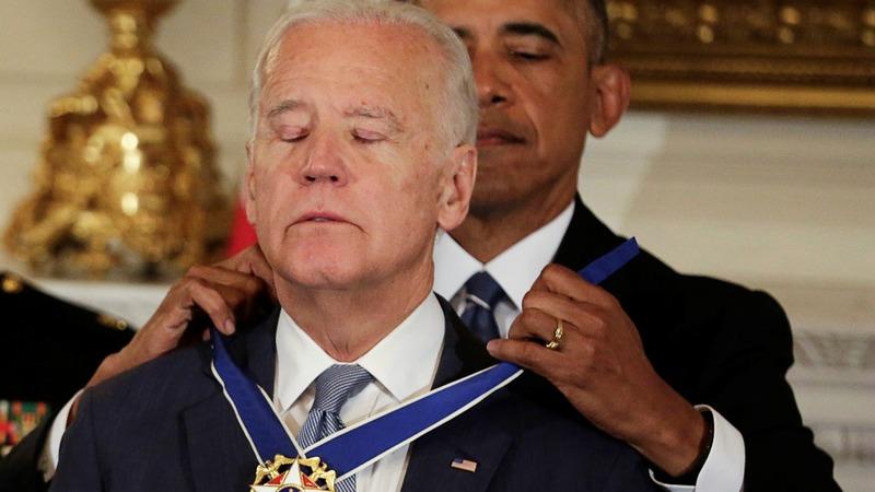 VERBATIM: Obama surprises Biden with Medal of Freedom