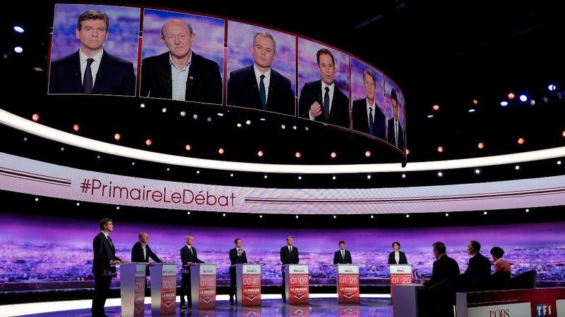 France's Left begins tight presidential race