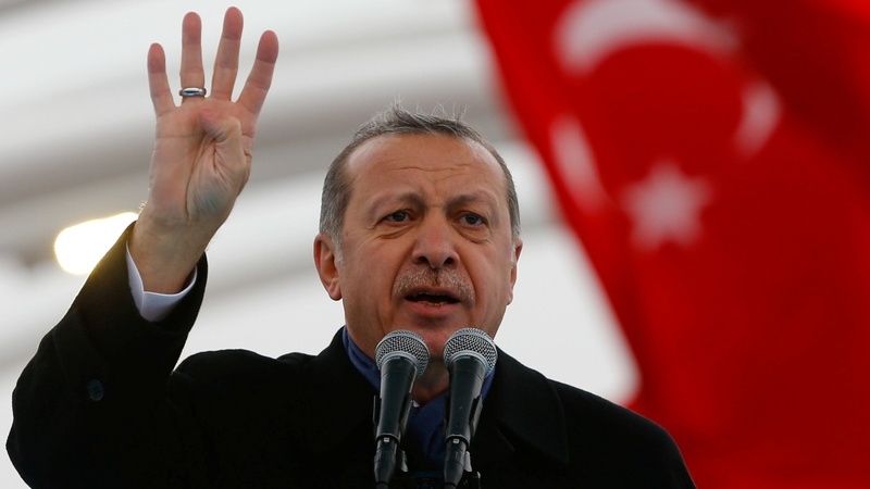Turkey gives more powers to Erdogan