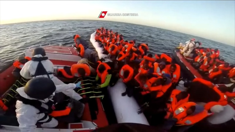 INSIGHT: 800 migrants rescued at sea
