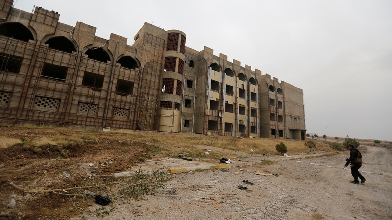 Iraqi forces capture Mosul University