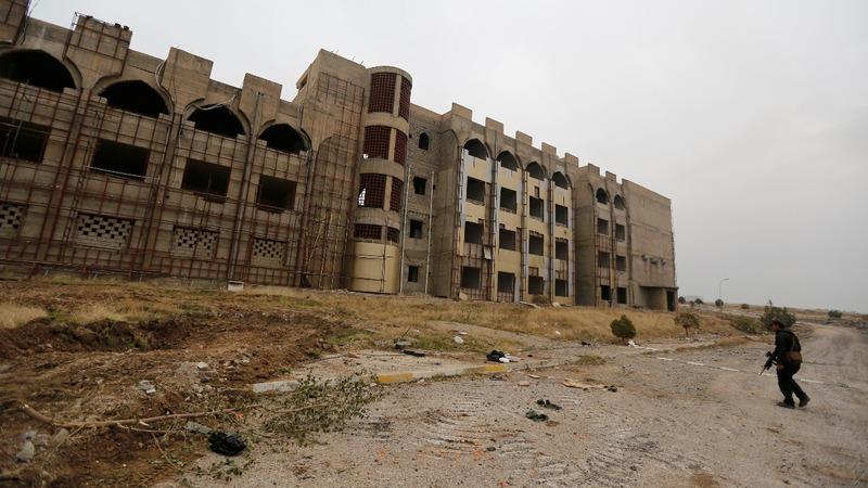 Iraqi forces capture Mosul University