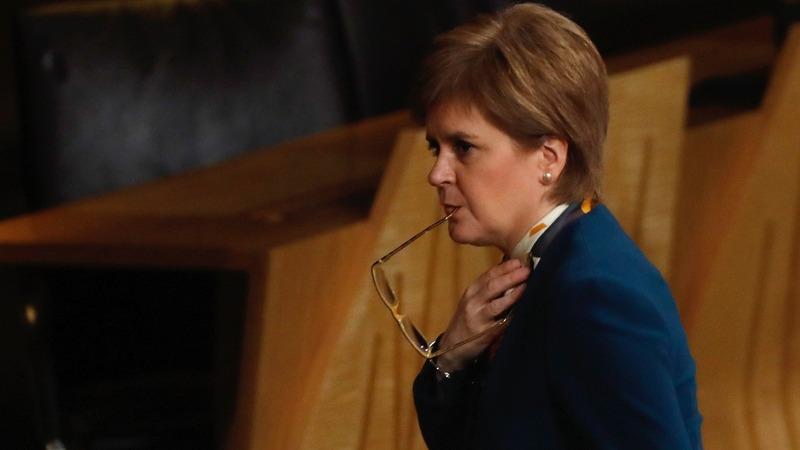 VERBATIM:Scotland's Sturgeon slams Brexit plan